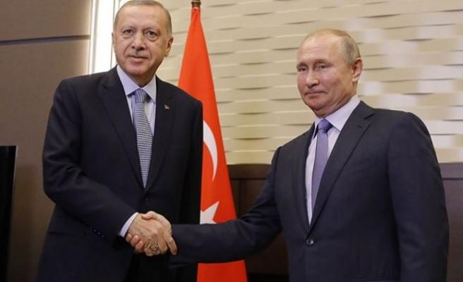 Erdoğan ile Putin bir araya geldi