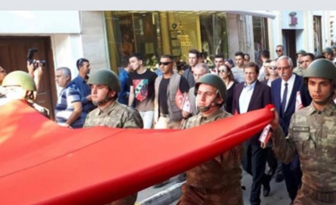 Girne'de Kortej ve bando konseri gerçekleştirildi