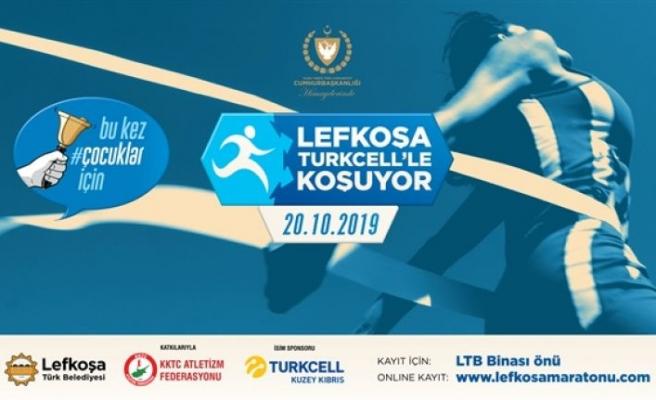 Lefkoşa Turkcell'le koşuyor maratonu için kayıtlar yarın başlıyor