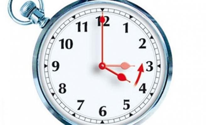 Saatler sabah 04.00'te bir saat geri alınacak