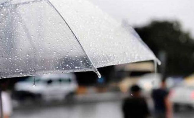 Yarın, perşembe ve cuma yağmur bekleniyor