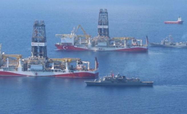 Yavuz ve Fatih sondaj gemileri Doğu Akdeniz'de yan yana!