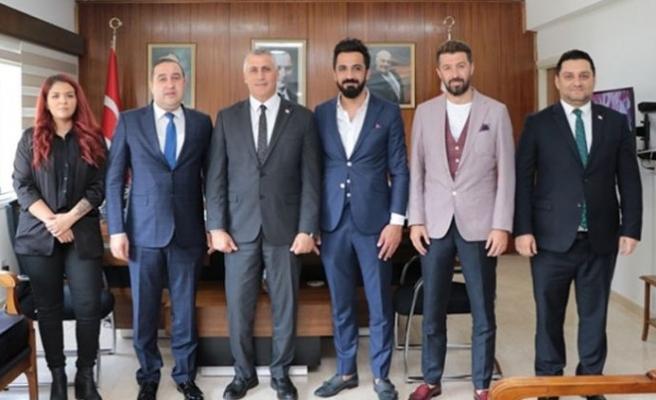 Amcaoğlu, Osmaniye Gazeteciler Cemiyeti heyetini kabul etti