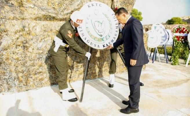 Atatürk, Gazimağusa'da törenle anıldı