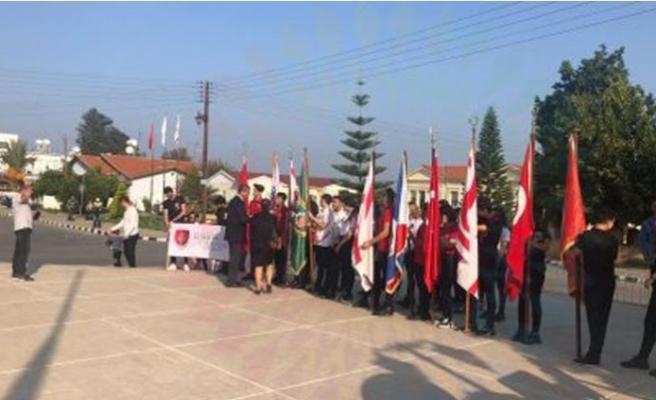 Atatürk Güzelyurt'ta da törenle anıldı