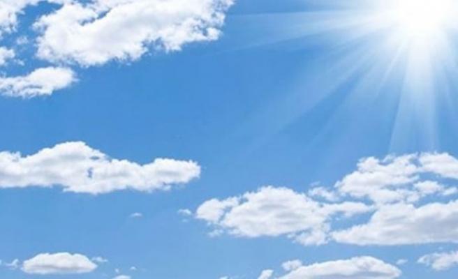 Hava 15 kasım'a kadar açık ve az bulutlu olacak