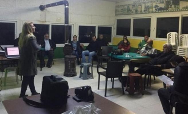 Tarım Dairesi eğitim çalışmalarına Dağyolu Köyü ile devam edecek