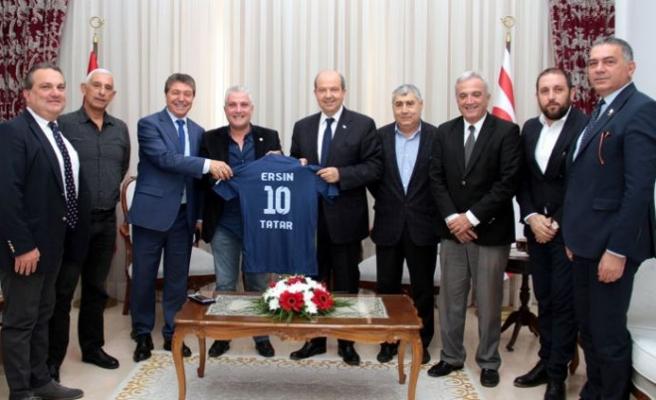 Tatar Doğan Türk Birliği Spor Kulübü'nü kabul etti