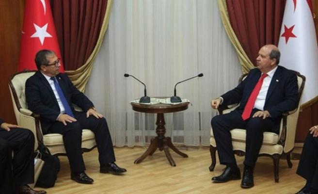 Tatar, Milli Olimpiyat Komitesi heyetini kabul etti