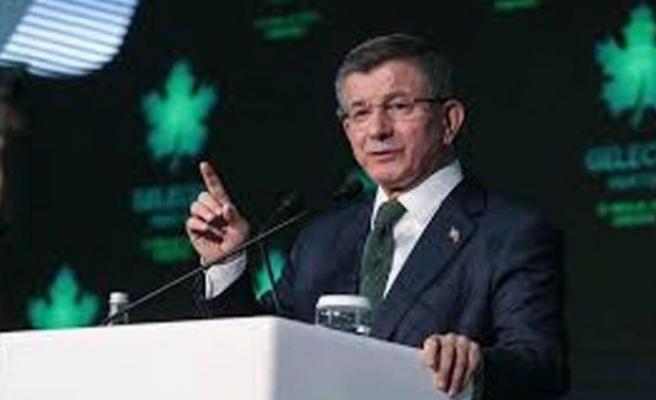 """Davutoğlu, """"Gelecek Partisi""""nin tanıtımını yaptı"""