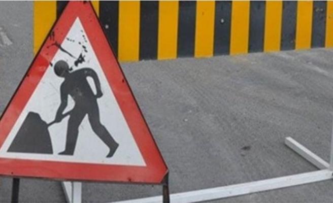 Haspolat kavşağı bugün trafik akışına kapalı olacak