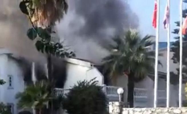 LA Otel'de çıkan yangında bir kişi hayatını kaybetti