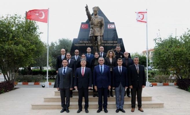 Çavuşoğlu'ndan, SSTB'ye nezaket ziyareti