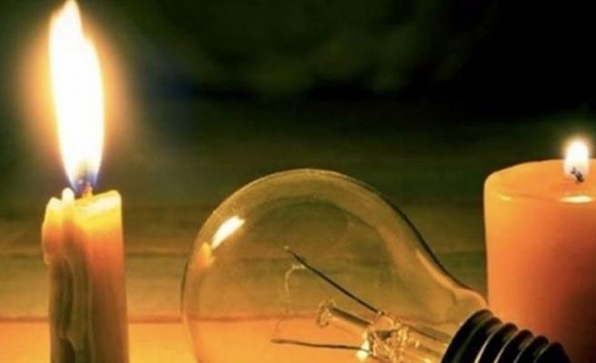 Güvercinlik kavşağı bölgesinde elektrik kesintisi