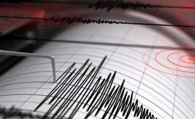 Akdeniz'de 4,7'lik deprem