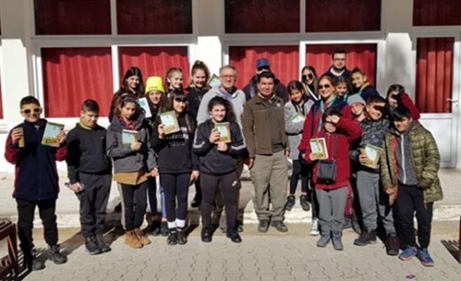 Esentepe'de kış izcilik kampı düzenlendi