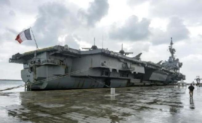 Fransız savaş gemisinin Güney Kıbrıs'a gelmesine tepki