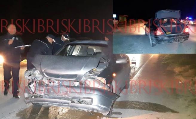 Karpaz - İskele yolunda kaza! 3 yaralı