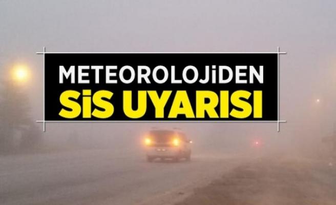 """Meteorolojiden sis uyarısı! """"Bu akşam 17.00'den yarın sabah...."""""""