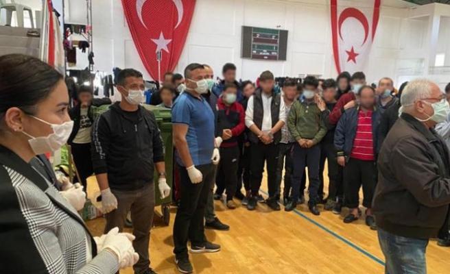 Baybars, mültecilerin son durumu hakkında açıklama yaptı