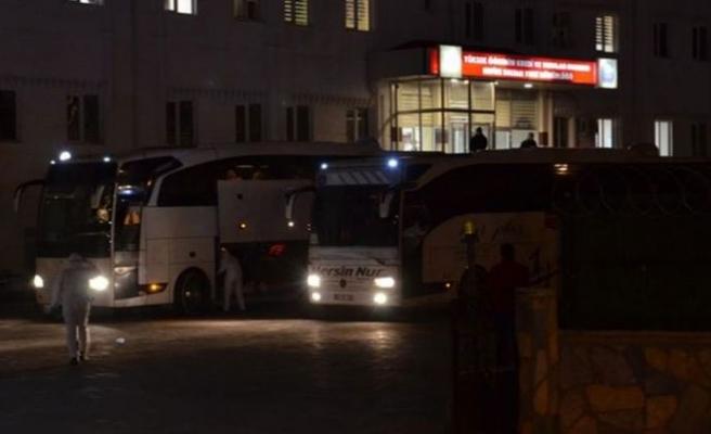 KKTC'den Türkiye'ye giden 332 kişi Karaman'da yurda yerleştirildi