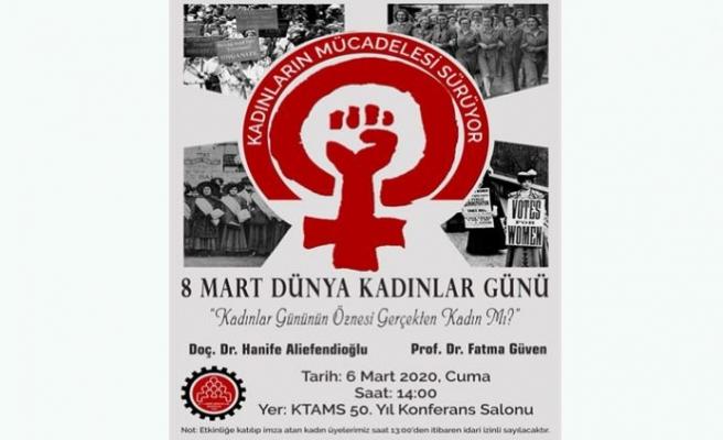 KTAMS'tan Kadınlar Günü etkinliği