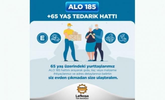 LTB'den '65 Yaş ve Üzeri Tedarik Hattı' hizmette