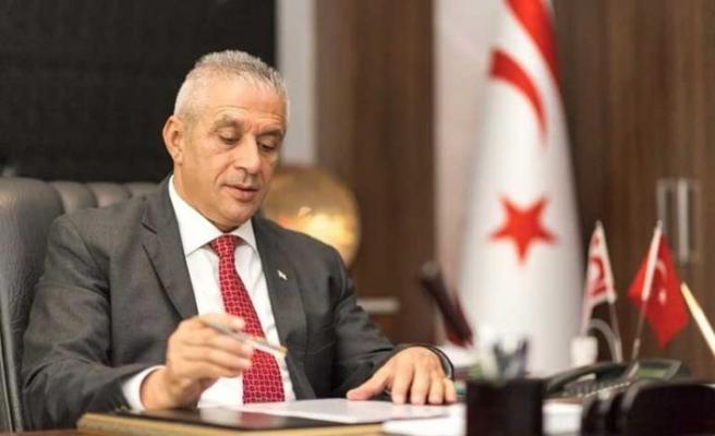 Taçoy: Salamis'teki organizasyon 24 Mart'a kadar sürecek