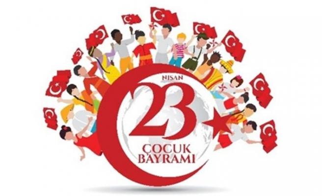 23 Nisan Ulusal Egemenlik ve Çocuk Bayramı yarın kutlanıyor