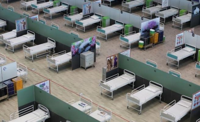 Alışveriş merkezi hastaneye dönüştürüldü