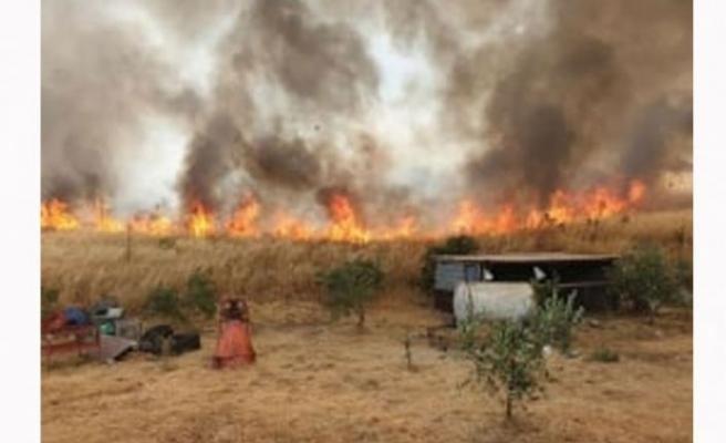 Dikmen'de çıkan yangın söndürüldü