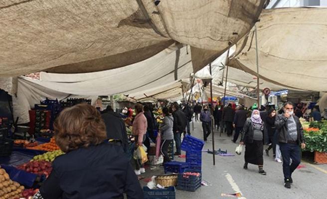 Herşeye rağmen İstanbul'da pazar faaliyetleri başlıyor