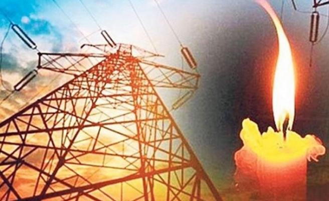 Kurtuluş Köyünde elektrik kesintisi