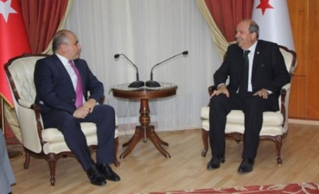 Tatar, Büyükelçi ile protokolü görüştü