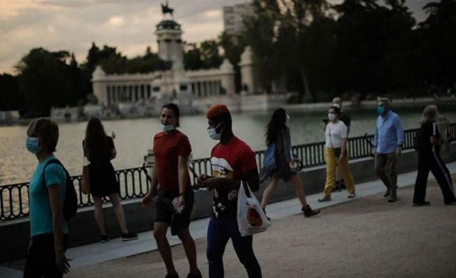 İspanya'da Kovid-19'da yeni vakalardaki artış sürüyor