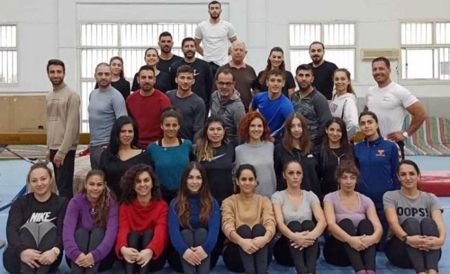 KKTC Cimnastik Federasyonu yönetim kurulu e antrenör vize semineri düzenleyecek.