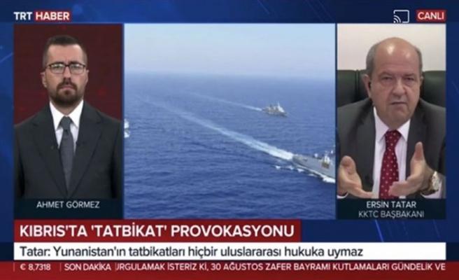 Tatar TRT Haber'e Doğu Akdeniz'deki son gelişmeleri değerlendirdi