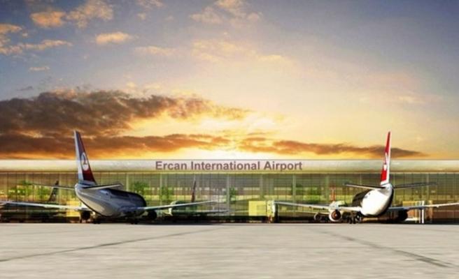 Ercan'a geliş uçuşları bu gece yarısı durduruluyor