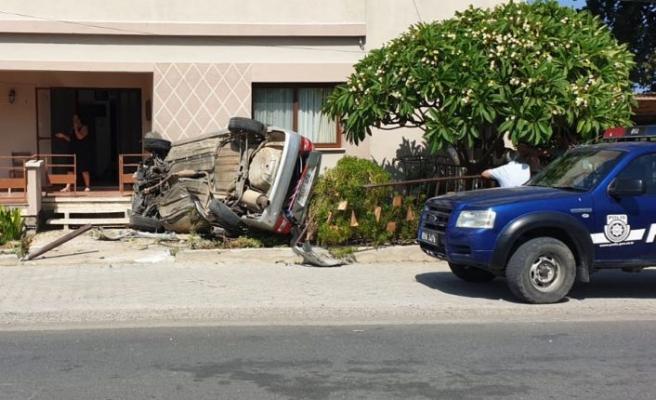 Karşıyaka'da kaza: 1 yaralı