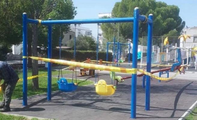 LTB tüm parkları ve çocuk oyun alanlarını kapattı