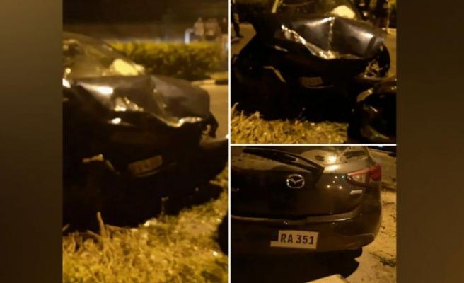 Mağusa'da trafik kazası… 6 yaralı!