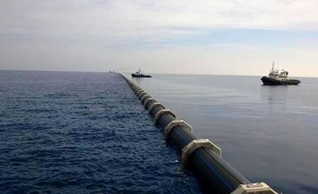 Tatar ve Oktay bugün su temin projesi tamiratını yapan gemide inceleme yapacak