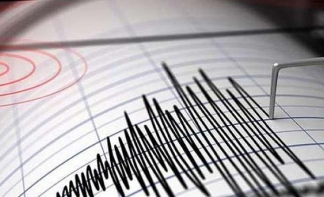 Yunanistan'da 5.4 büyüklüğünde deprem