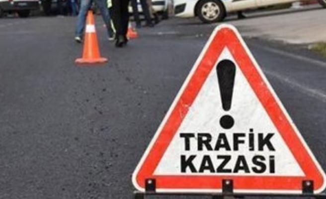 Çatalköy'de motor kazası… 1 ağır yaralı!