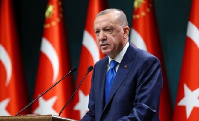Erdoğan: Doğu Akdeniz'de asla geri adım atmayacağız