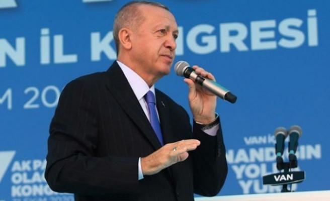 Erdoğan: Evleri yıkılanlara yenilerini yapacağız