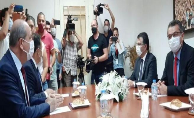 Tatar-Erhürman görüşmesi başladı
