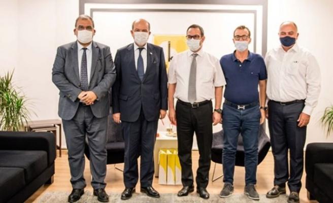 Tatar, Kıbrıs Türk Ticaret Odası'nı ziyaret etti
