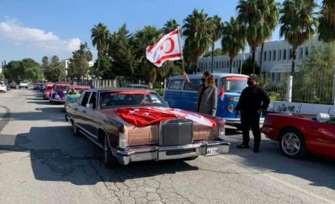 10.Cumhuriyet Klasik Otomobil Gezisi yapıldı