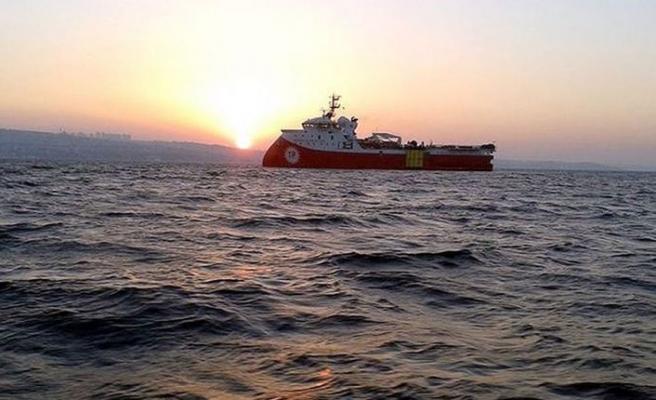 Barbaros Hayreddin Paşa gemisi 16 Şubat'a kadar Doğu Akdeniz'de